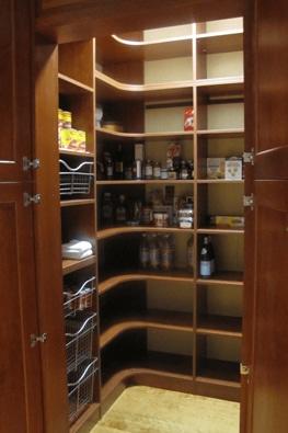 Pantries, Laundries & Linen Closets