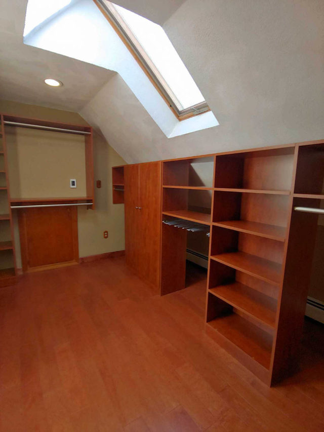 Sunset Slanted Ceiling Wardrobe