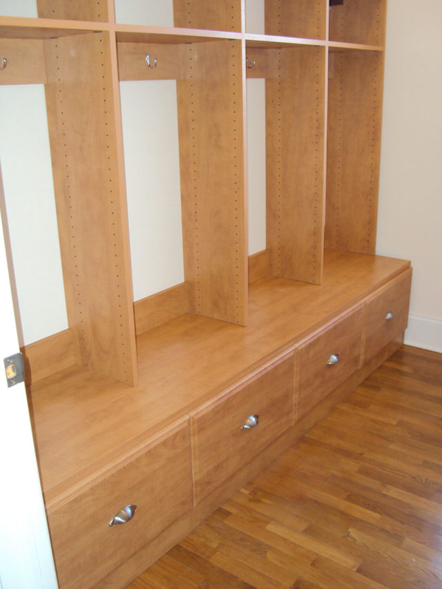 Candlelight Mudroom Cubbies