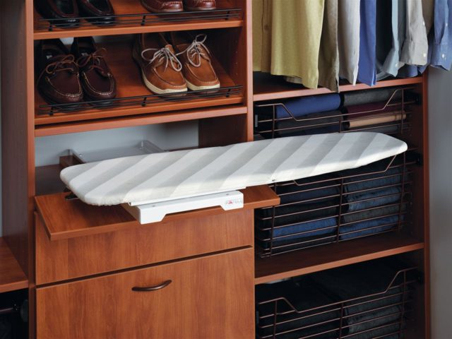 In Drawer Ironing Board
