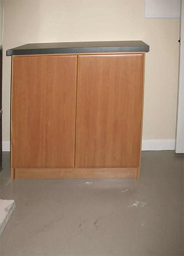Small Workbench With Storage