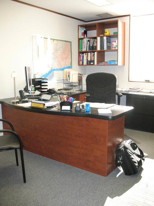 Sunset Desk Formica Top Sales Office