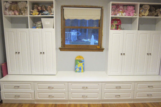 White Cabinets For Child's Room