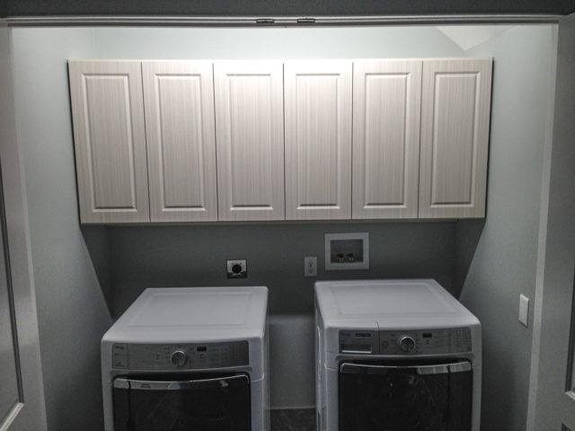 White Chocolate Shaker Cabinets