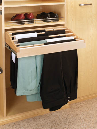 Wooden Pant Rack